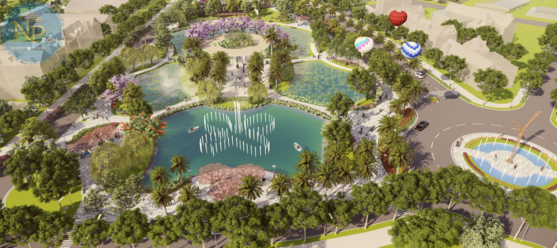 Công viên Vsip Bắc Ninh Central Park ( Inno Biz Hub)