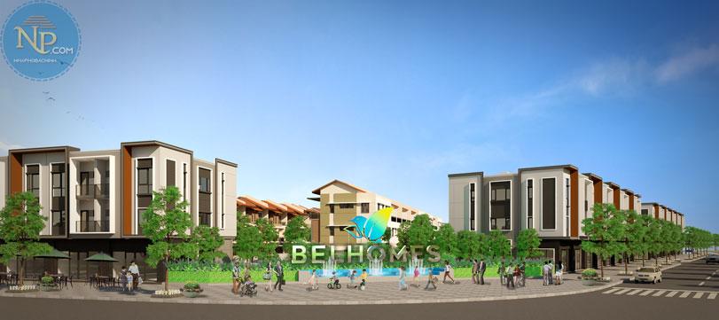 Công viên cây xanh dự án BelHomes