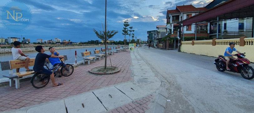 Hồ điều hòa phố Phan